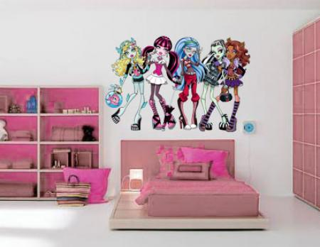 vinilo decorativo Monsters Hight