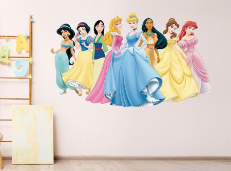 vinilo_decorativo_Princesas_Disney