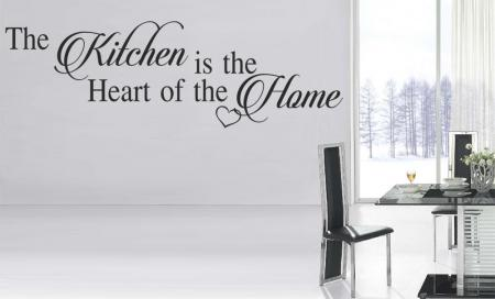 vinilo decorativo The Kitchen is The Heart