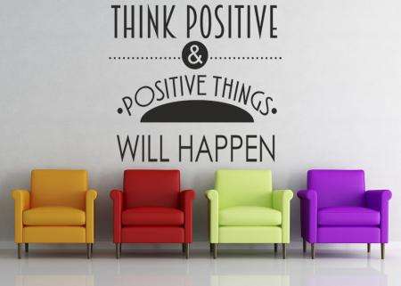 vinilo_decorativo_Think_Positive