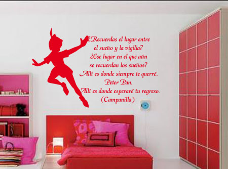 Vinilos Decorativos Infantil Peter Pan