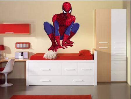 vinilo decorativo Infantiles spiderman hombre araña