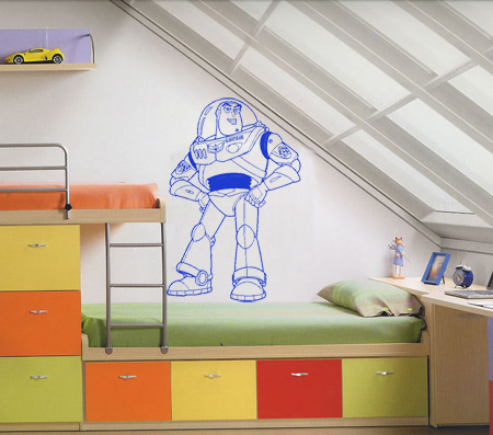 Vinilos Decorativos Infantiles Buzz Lightyear