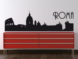 Vinilo decorativo Skyline Roma
