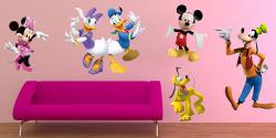 vinilo decorativo Personajes Disney para pegar por separado