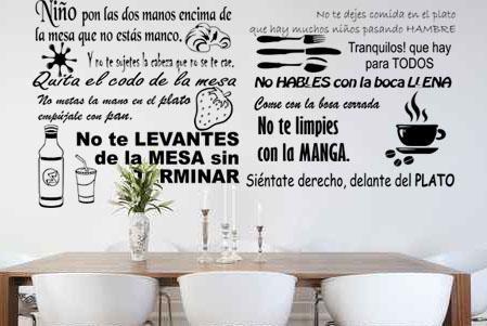 Vinilo_Decorativo_Texto_Normas_comida_Niños