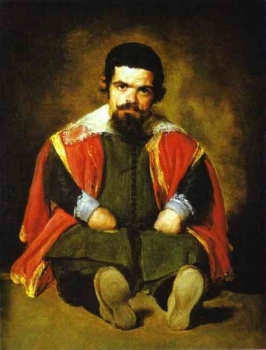 Diego_Velazquez_-_A_Dwarf_Sitting_on_the_Floor_(Don_Sebastian_de_Morra).jpg