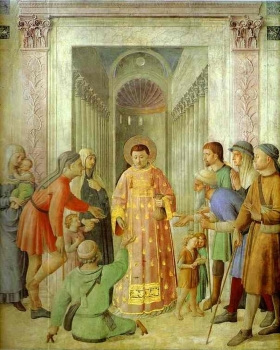 Fra_Angelico_-_Distributing_of_Alms.JPG