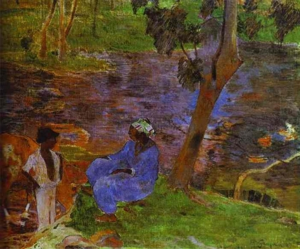 Gauguin_-_At_The_Pond.jpg