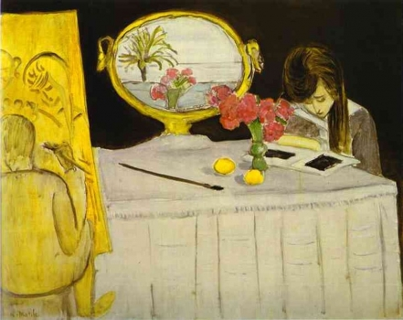 Henri_Matisse_-_The_Painting_Lesson.JPG