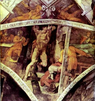 Michelangelo_-_The_Punishment_of_Haman.JPG