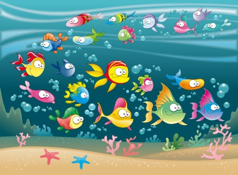 Cuadro peces ref 11656863 100 a medida - Cuadros con peces ...