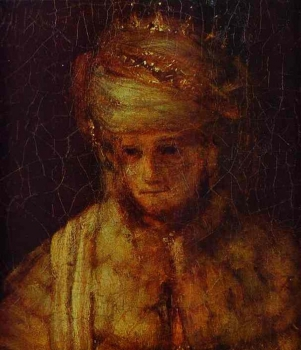 Rembrandt_-_Assuerus._Detail_of_Assuerus,_Haman_and_Esther.JPG