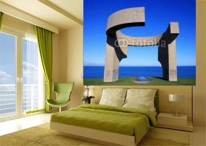 Foto mural monumento minimalista en el mar varios for Minimalista definicion