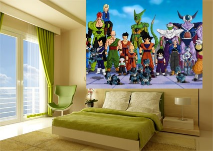 foto mural dragon ball z comics