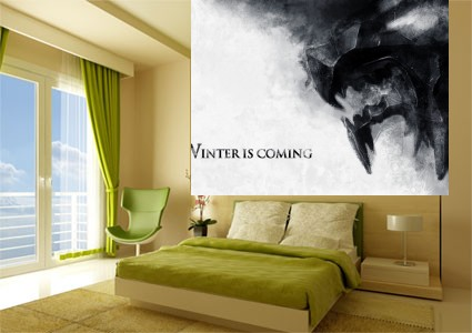 Foto mural Juego De Tronos Winter Is Coming series