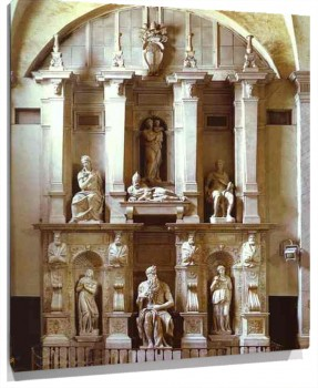 Lienzo The Tomb of the Pope Julius II