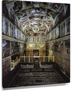 Michelangelo_-_The_interior_of_the_Sistine_Chape.JPG