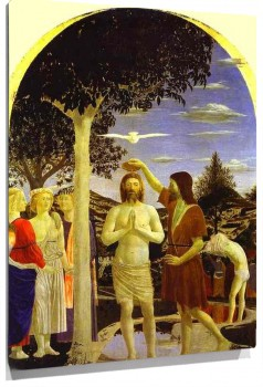 Lienzo Baptism of Christ