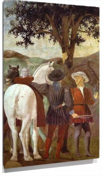 Lienzo Legend of the True Cross Adoration of the Wood