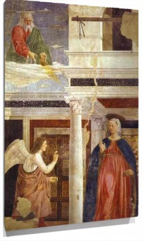Lienzo Legend of the True Cross Annunciation