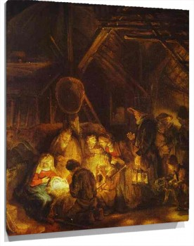 Miniatura Adoration of the Shepherds