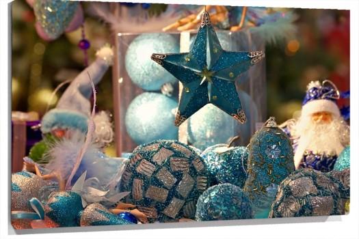 Cuadro objetos de navidad 100 a medida for Objetos de navidad