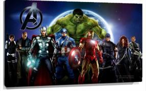 Murales Superheroes Los vengadores