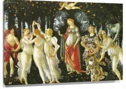 Lienzo La primavera de Botticelli