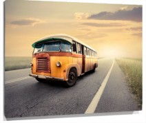 Murales Autobus viejo