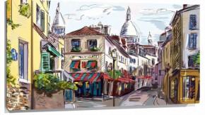Murales Calle paris pintada