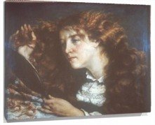 Lienzo Portrait of Jo, the Beautiful Irish Girl