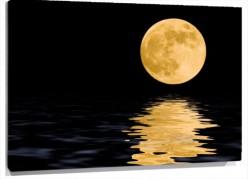 Murales Luna amarilla