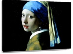 Lienzo Girl with a Pearl Earring