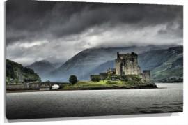 Murales castillo escocia