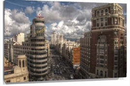 Murales gran via de madrid