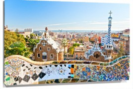 Murales parque guell barcelona