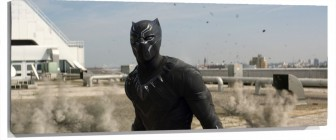 Lienzo Black Panther en la pelicula de capitan America Civil war