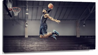 Lienzo Lebron James Basketball