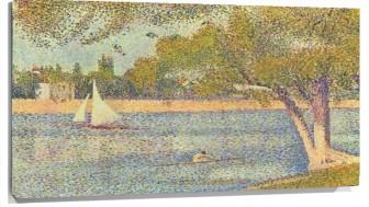 Lienzo Georges Seurat