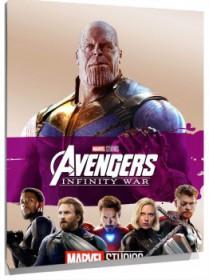Lienzo Avengers Infinity War cartel 2