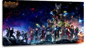 Lienzo Avengers Infinity War personajes
