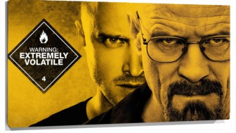 Lienzo Breaking Bad poster