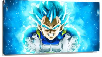 Lienzo Dragon Ball super saiyan Vegeta