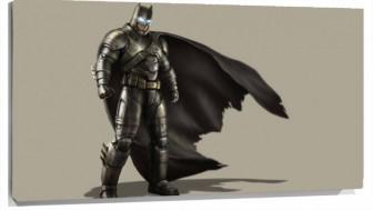 Lienzo Batman con traje de metal
