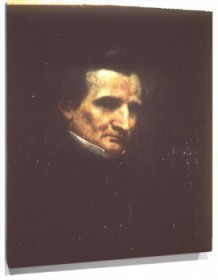 Lienzo Portrait of Berlioz