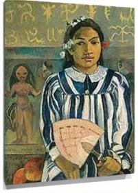 Lienzo Ancestors of Tehamana
