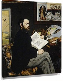 Lienzo Emile Zola