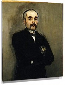Lienzo Georges Clemenceau