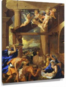 Lienzo Adoration of the Shepherds